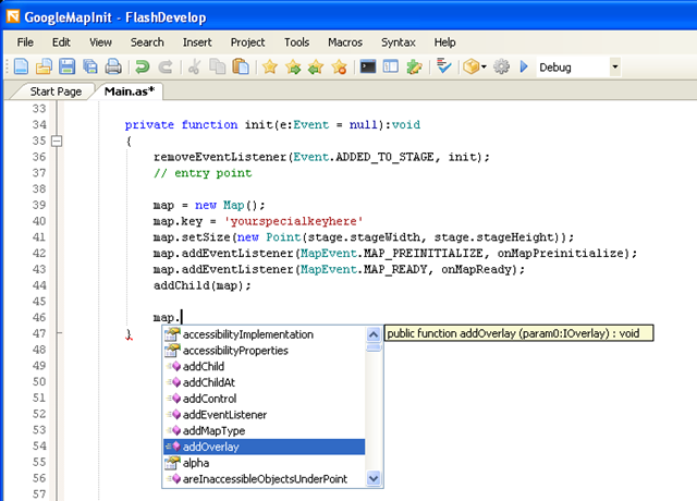 Programming and the GeoWeb   Use Open Source FlashDevelop
